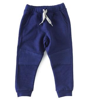 Little Label - Fancy sweat trousers uni navy