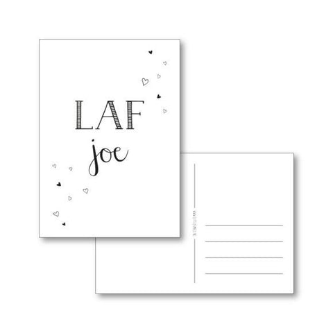 Little Small Postcard Laf Joe