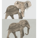 Wild & Soft - Wall Sticker Elephant