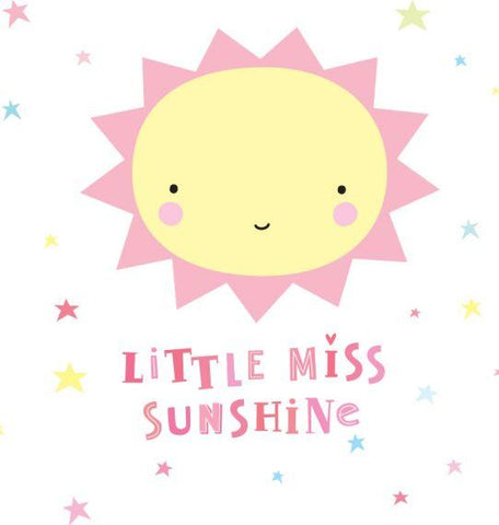 A Little Lovely Company - Wall Stickers Miss Sunshine