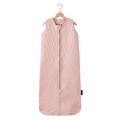 House Of Jamie - Sleeping Bag Summer Geometry Jacquard Powder Pink