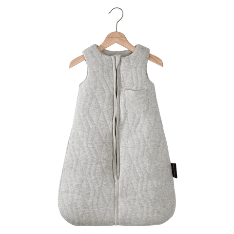 House Of Jamie - Sleeping Bag Baby Geometry Jacquard Stone