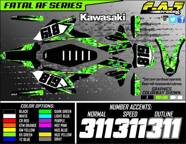 Suzuki Fatal AF Series Semi-Custom Graphics Kit