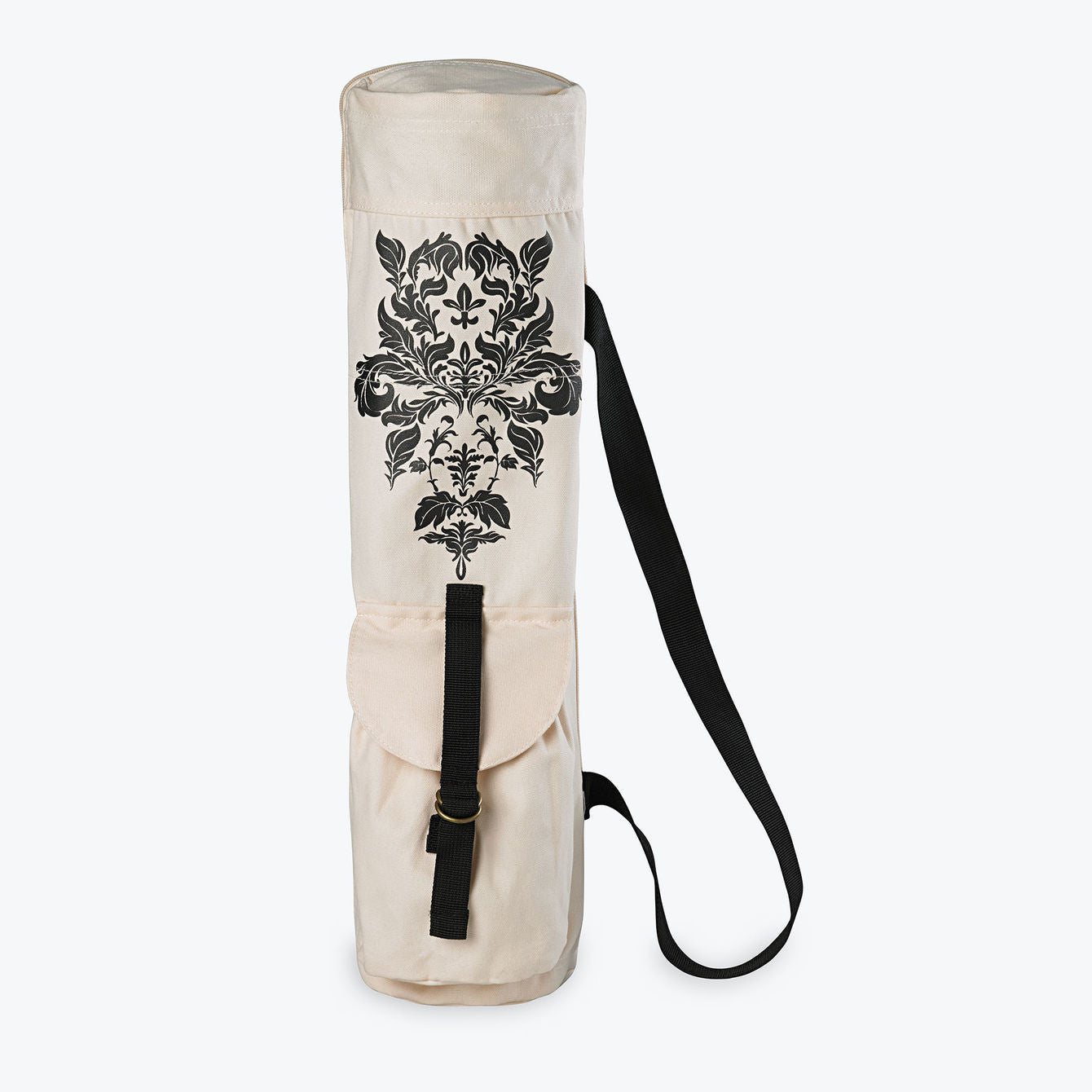 Damask Printed Yoga Mat Bag