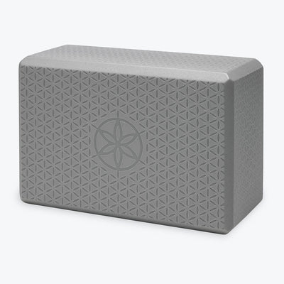 Flower of Life Embossed Yoga Block