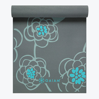 Premium Icy Blossom Yoga Mat (5mm)
