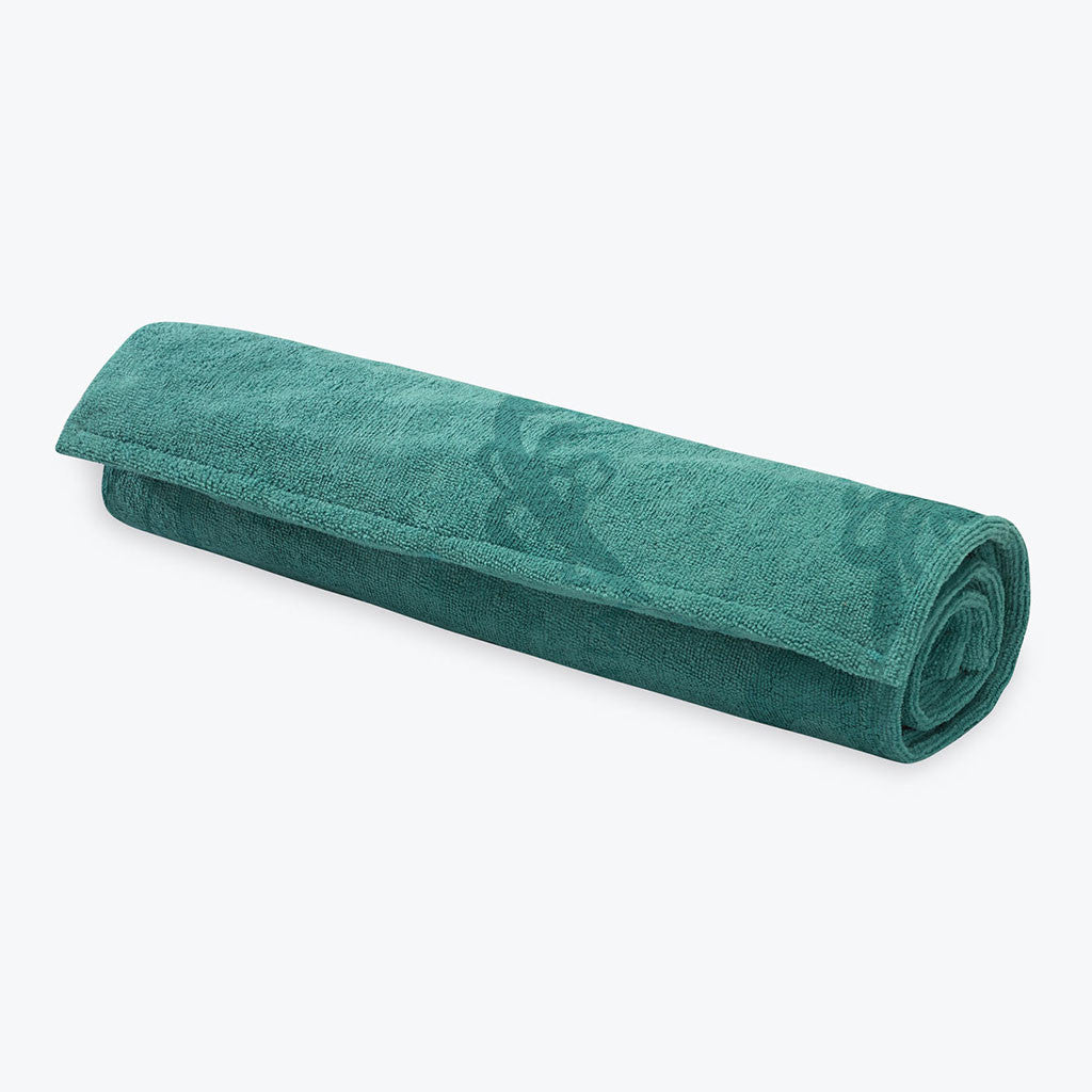 Watercress Grippy yoga towel