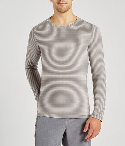 Transcend Long Sleeve Striped Tee