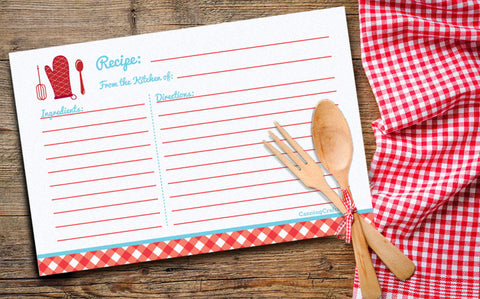 FREE printable recipe cards, canning labels, & survey