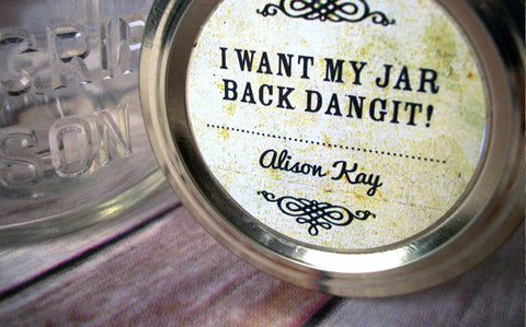 Return My Jar Canning Labels