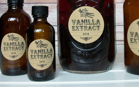 DIY Homemade Vanilla Extract Recipe