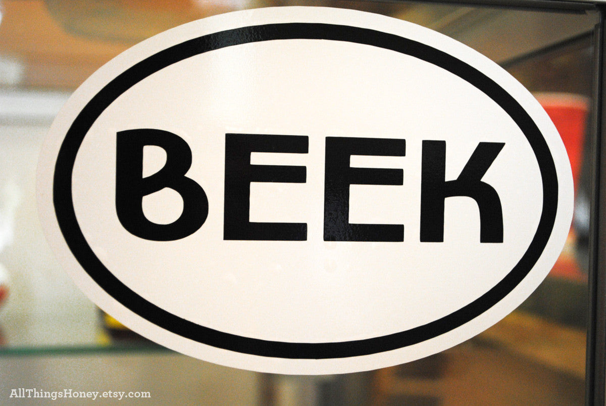 BEEK Vinyl Decal by All Things Honey