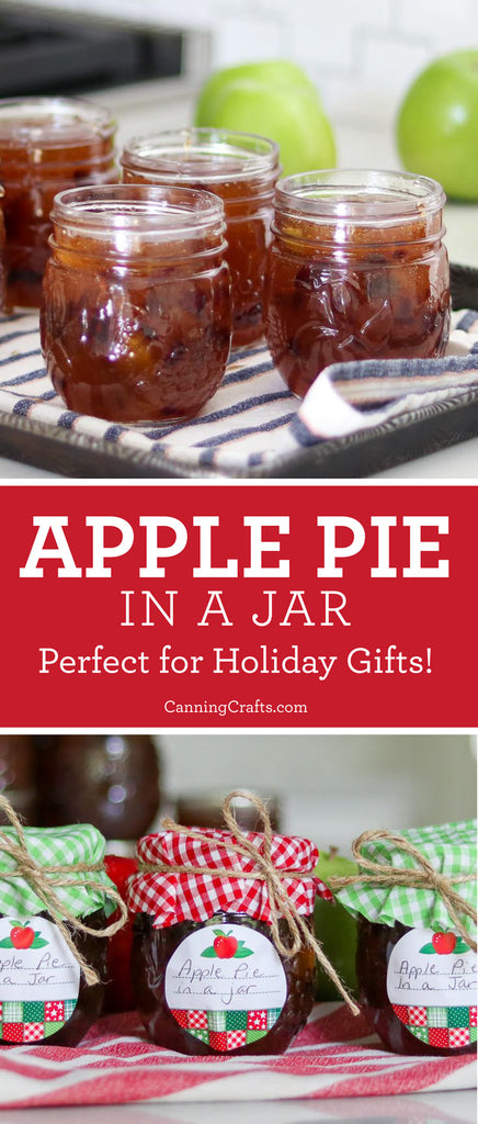 Apple Pie in a Jar Canning Recipe | CanningCrafts.com