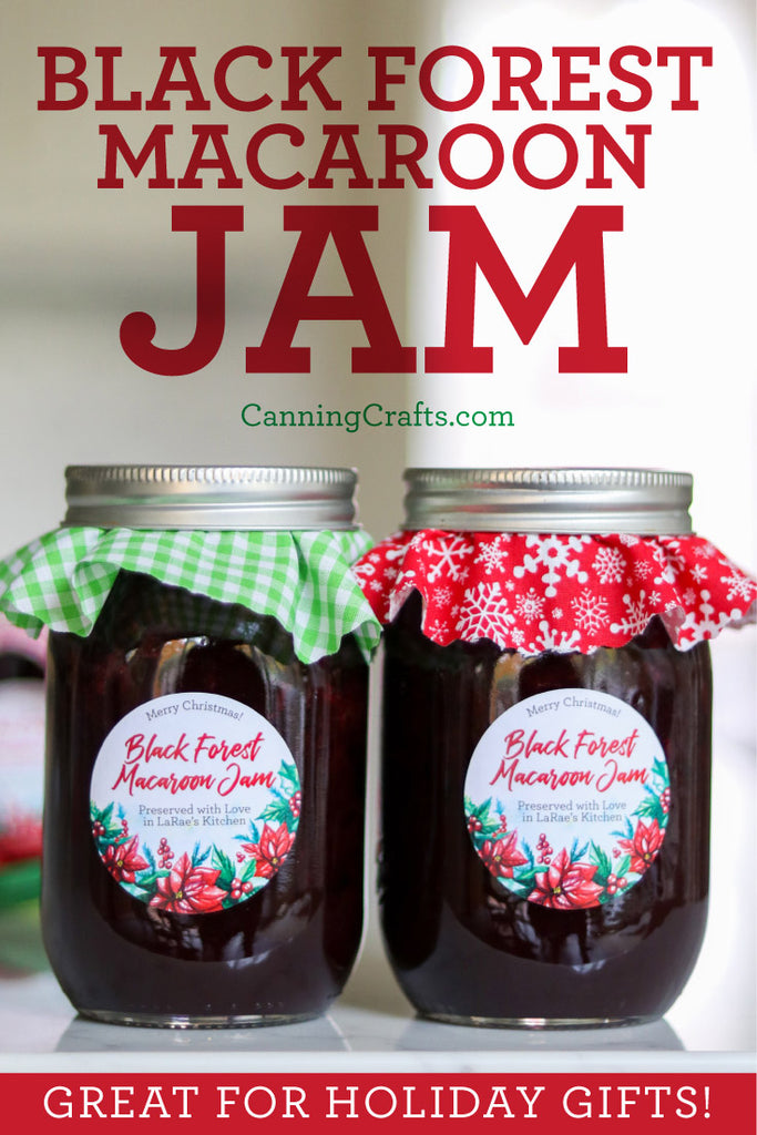 Black Forest Macaroon Jam Canning Recipe | CanningCrafts.com