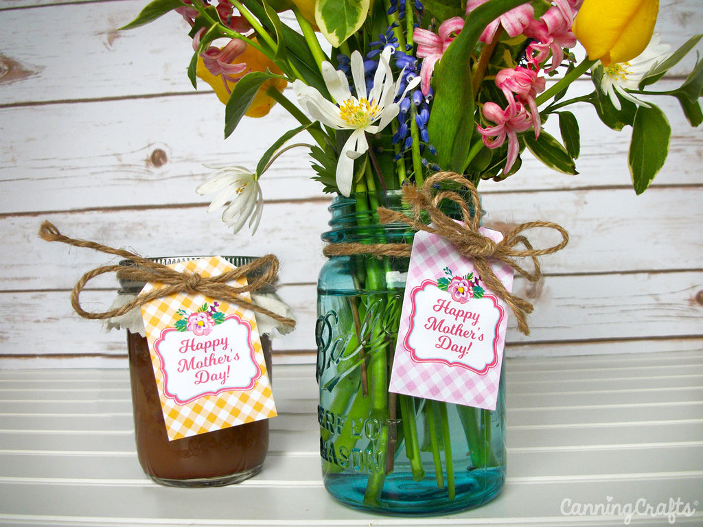 FREE Printable Mother's Day Gift Tags | CanningCrafts.com