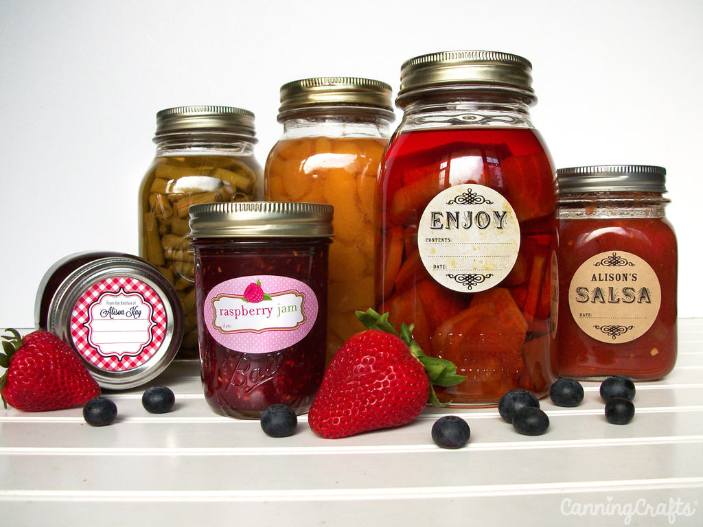 Canning Labels | CanningCrafts.com