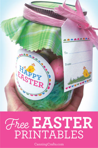 CanningCrafts.com free printable easter tags & labels