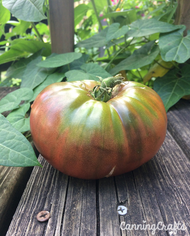 CanningCrafts.com Cherokee Purple Heirloom Tomato