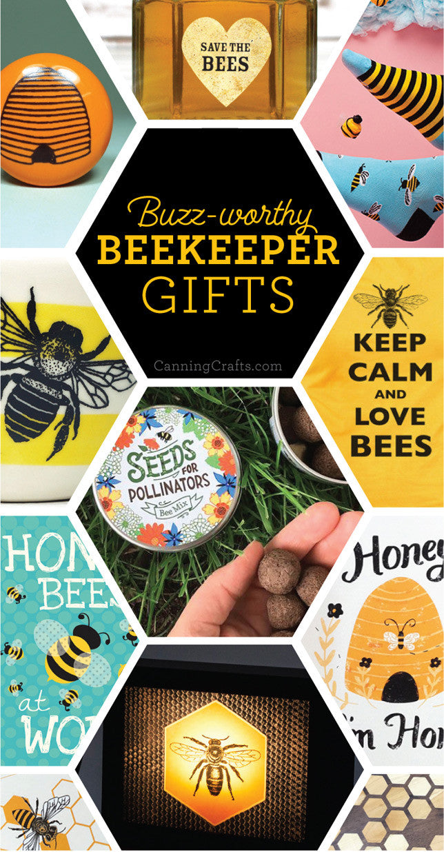 Gifts for Backyard Beekeepers | CanningCrafts.com