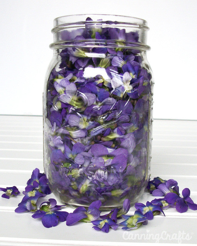 Violet jelly recipe | CanningCrafts.com