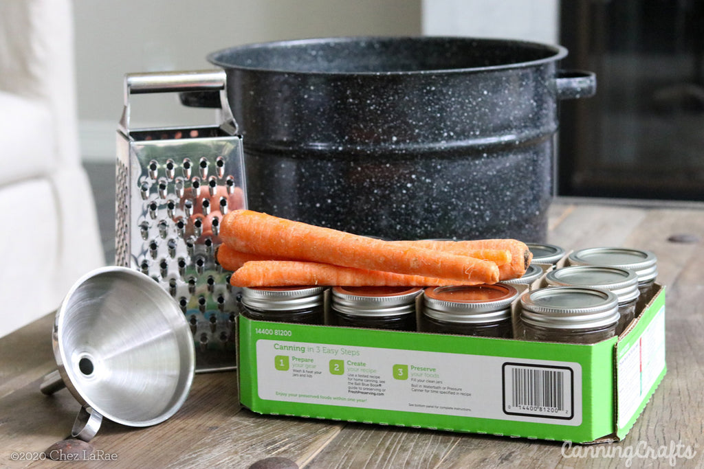 Carrot Cake Jam Waterbath Canning Recipe | CanningCrafts.com