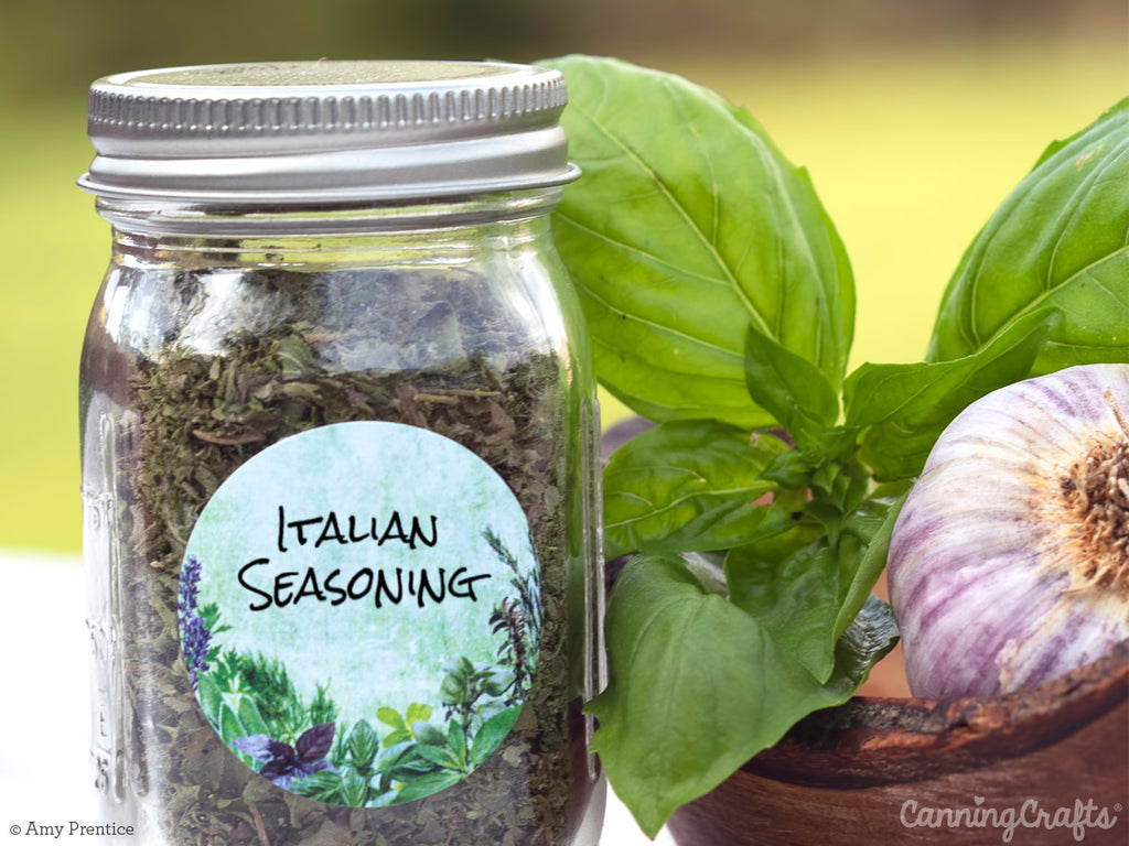 Grow and Create Your Own Italian Seasoning Blend | CanningCrafts.com