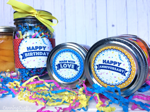 Printable Mason Jar Gift Labels and Tags from CanningCrafts.com
