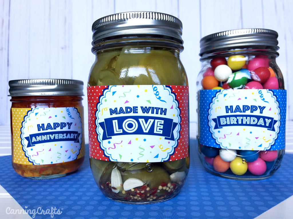 FREE Printable Mason Jar Labels & Tags | CanningCrafts.com