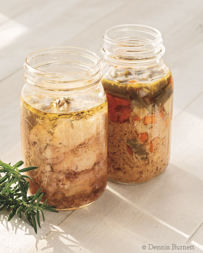 Pressure Canning for Beginners and Beyond Chicken Pot Pie Recipe | CanningCrafts.com