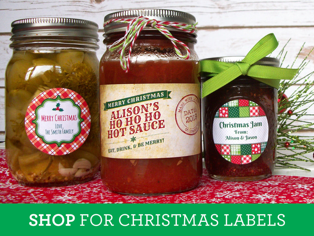 Shop for Christmas Canning Labels on CanningCrafts.com