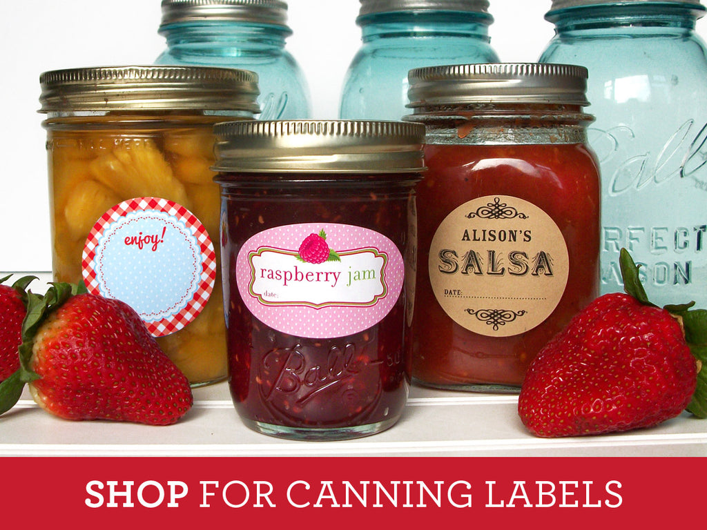 Shop for canning labels in our shop!