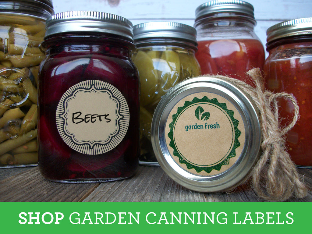 Shop for Garden Canning Labels on CanningCrafts.com
