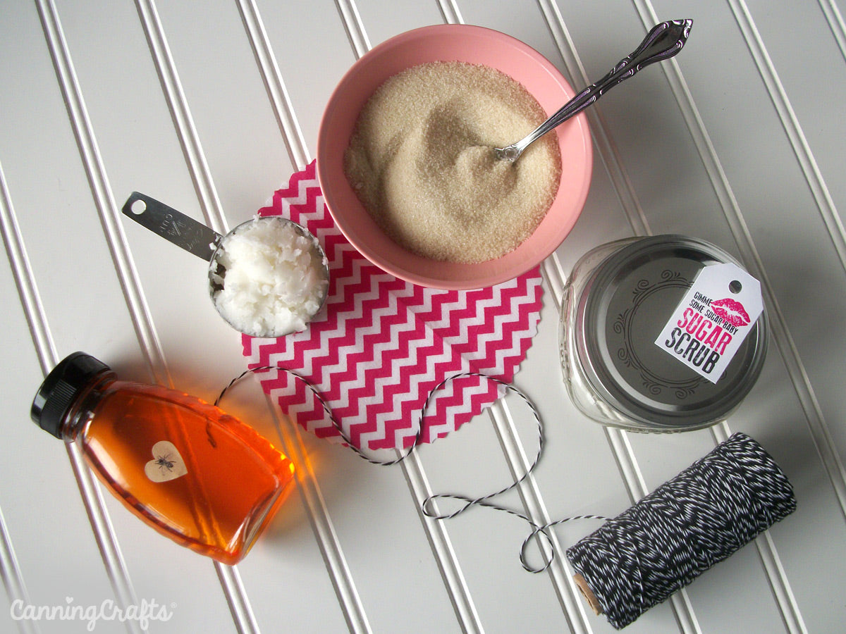 valentine's day sugar scrub recipe