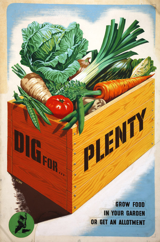 Victory Garden Dig for Plenty poster