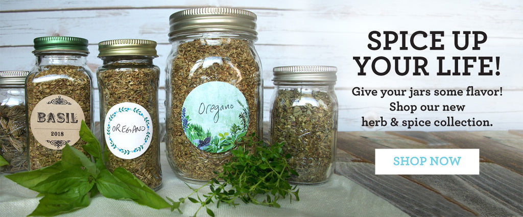 Shop for herb & spice jar labels on CanningCrafts.com