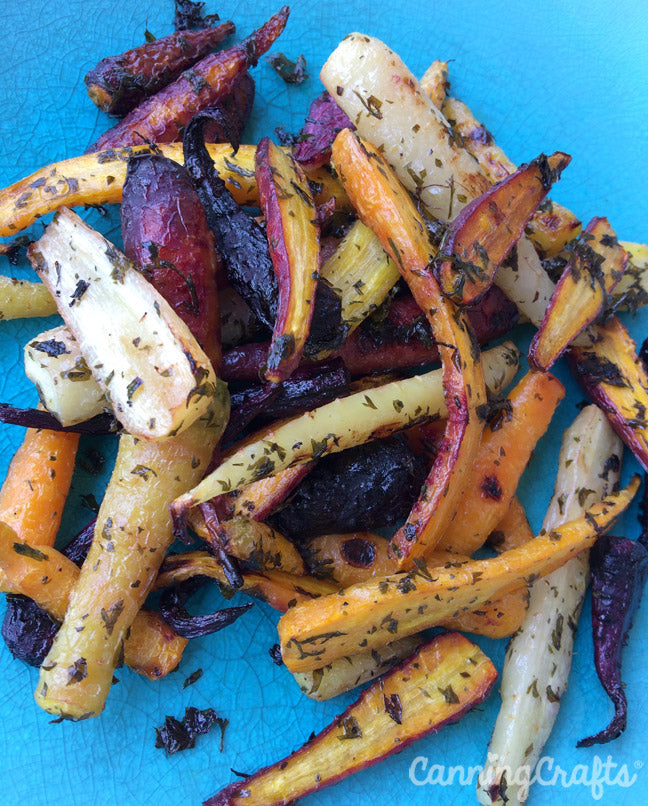 Maple Roasted Carrot Recipe | CanningCrafts.com