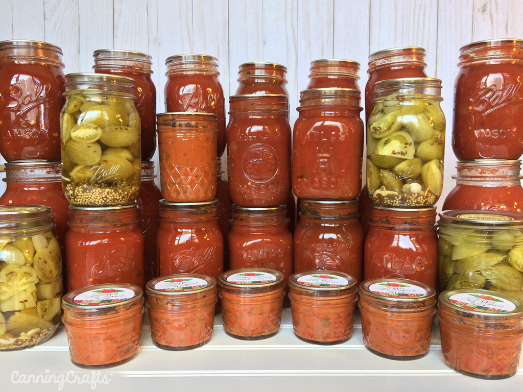 Canned Tomatoes, Salsa, & Sauce | CanningCrafts.com