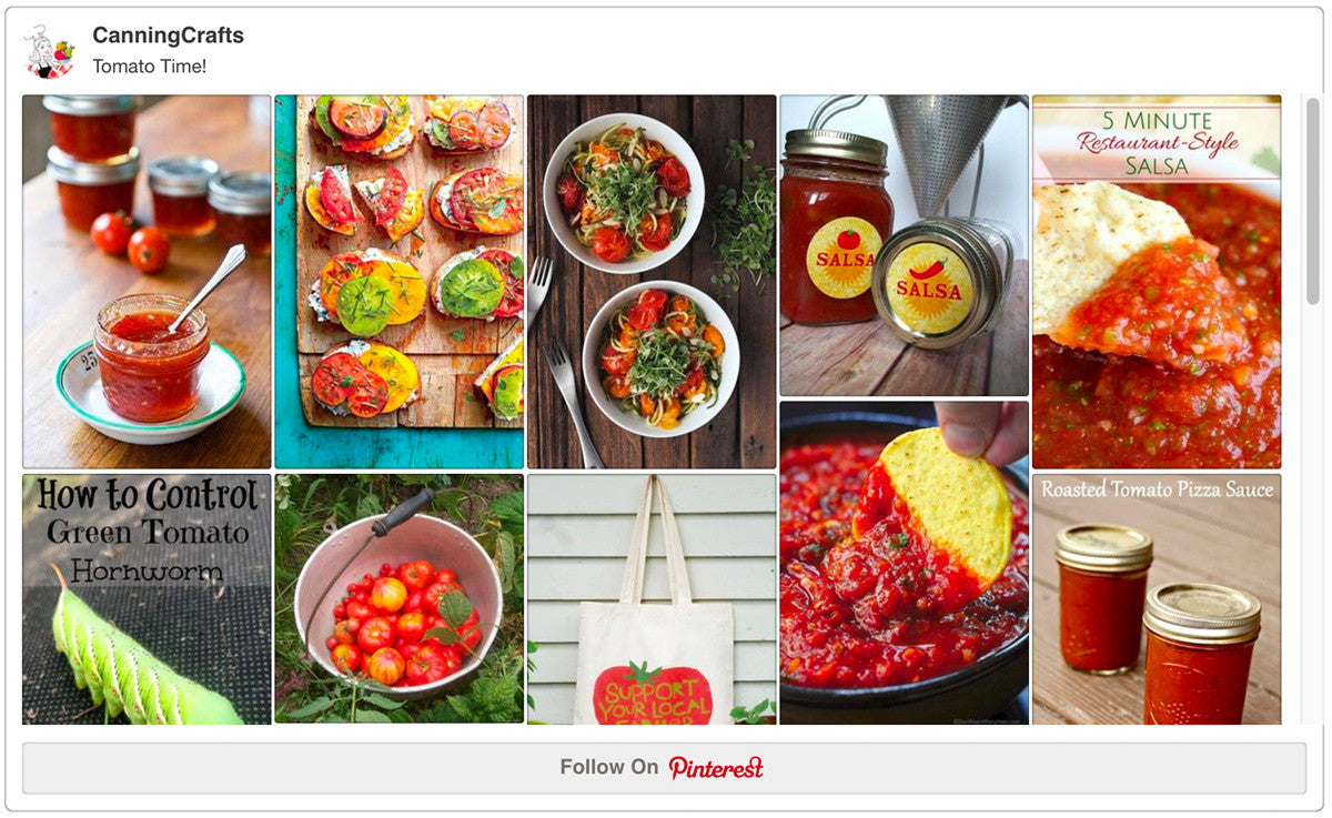 Tomatoes on Pinterest
