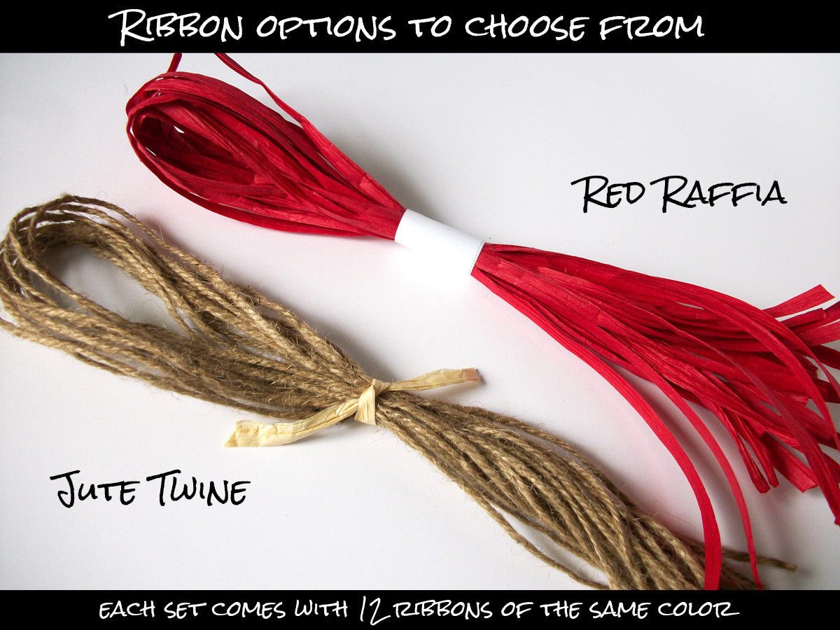 Christmas ribbons | CanningCrafts.com