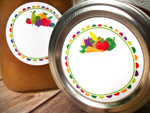 Fruit & Vegetable Canning Labels | CanningCrafts.com