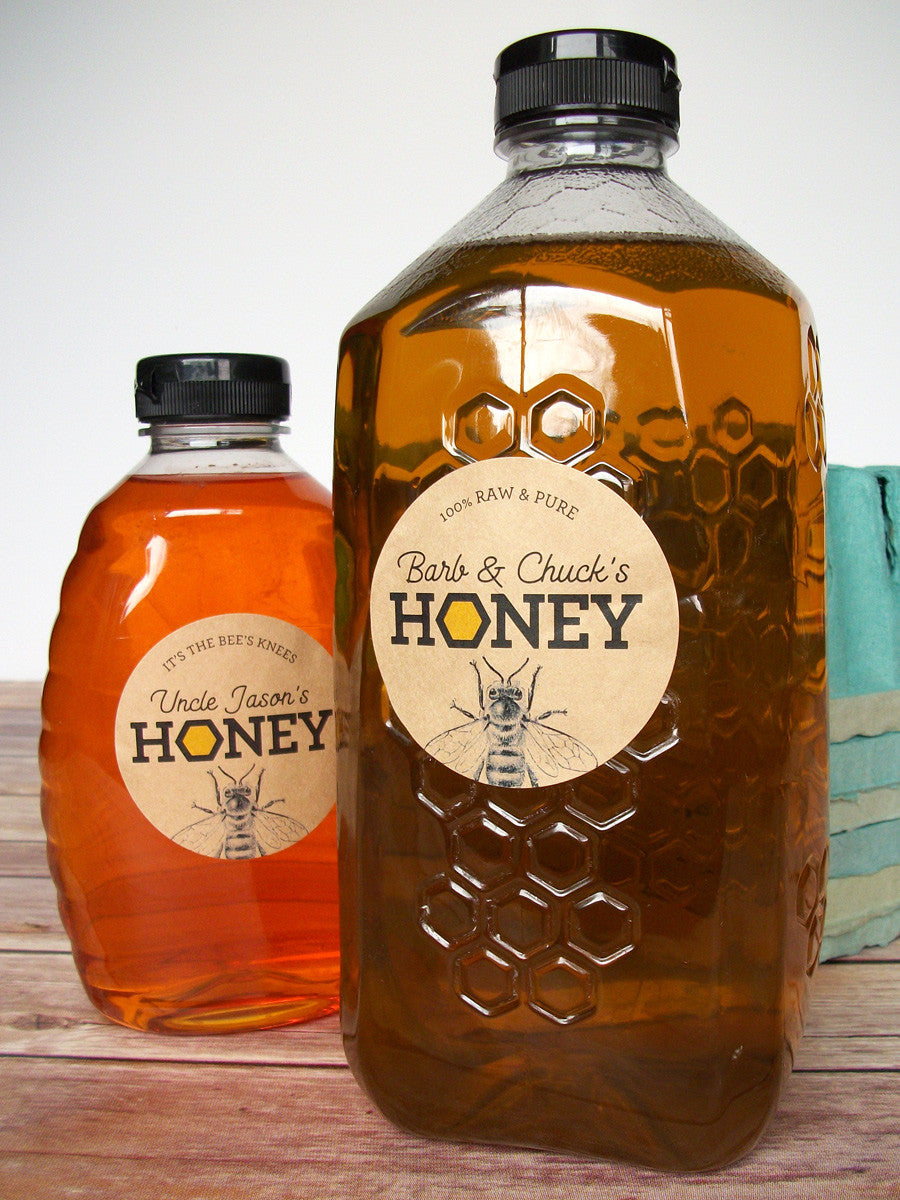 custom honey bottle labels | CanningCrafts.com