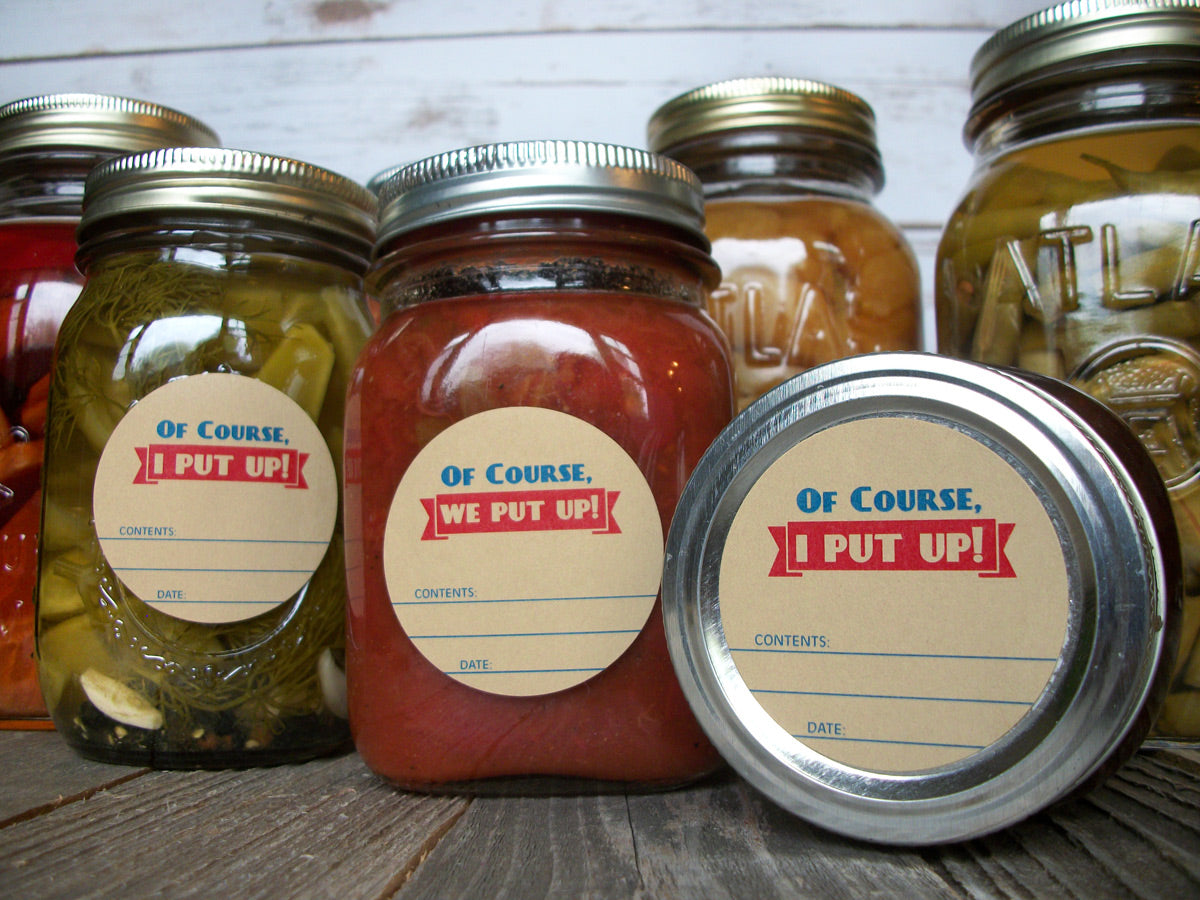 I We Put Up Victory Garden Canning Jar Labels | CanningCrafts.com