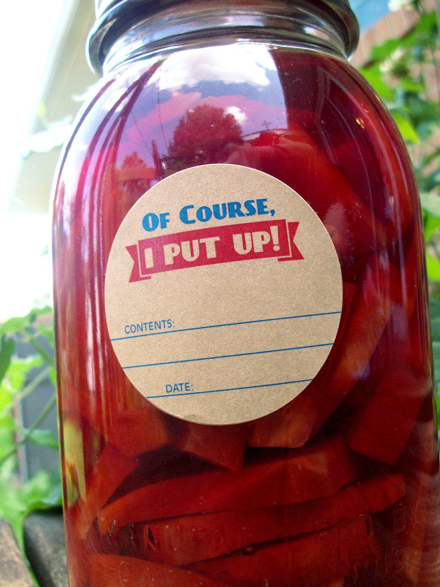 I Put Up Victory Garden Canning Labels | CanningCrafts.com