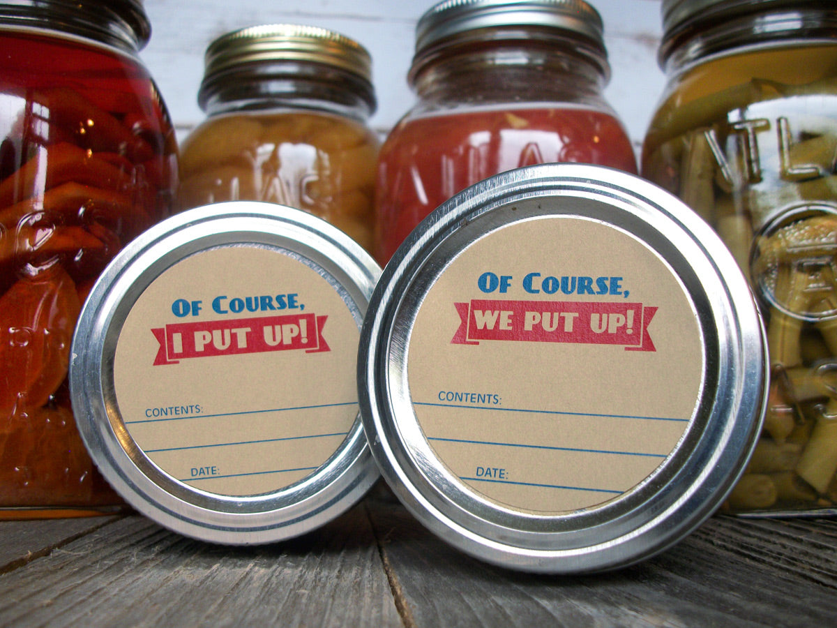 I We Put Up Victory Garden Canning Labels | CanningCrafts.com