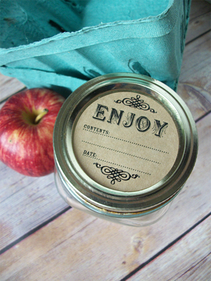 Kraft Jam Jar Labels | CanningCrafts.com