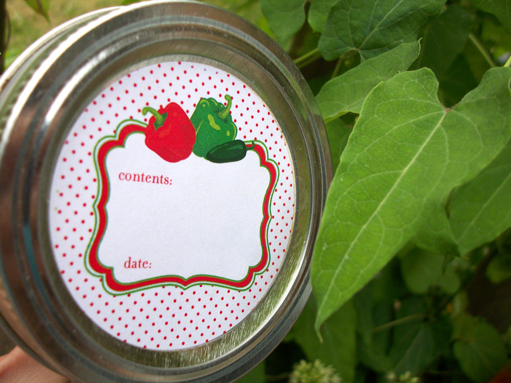 Cute Pepper Jelly Canning Labels | CanningCrafts.com