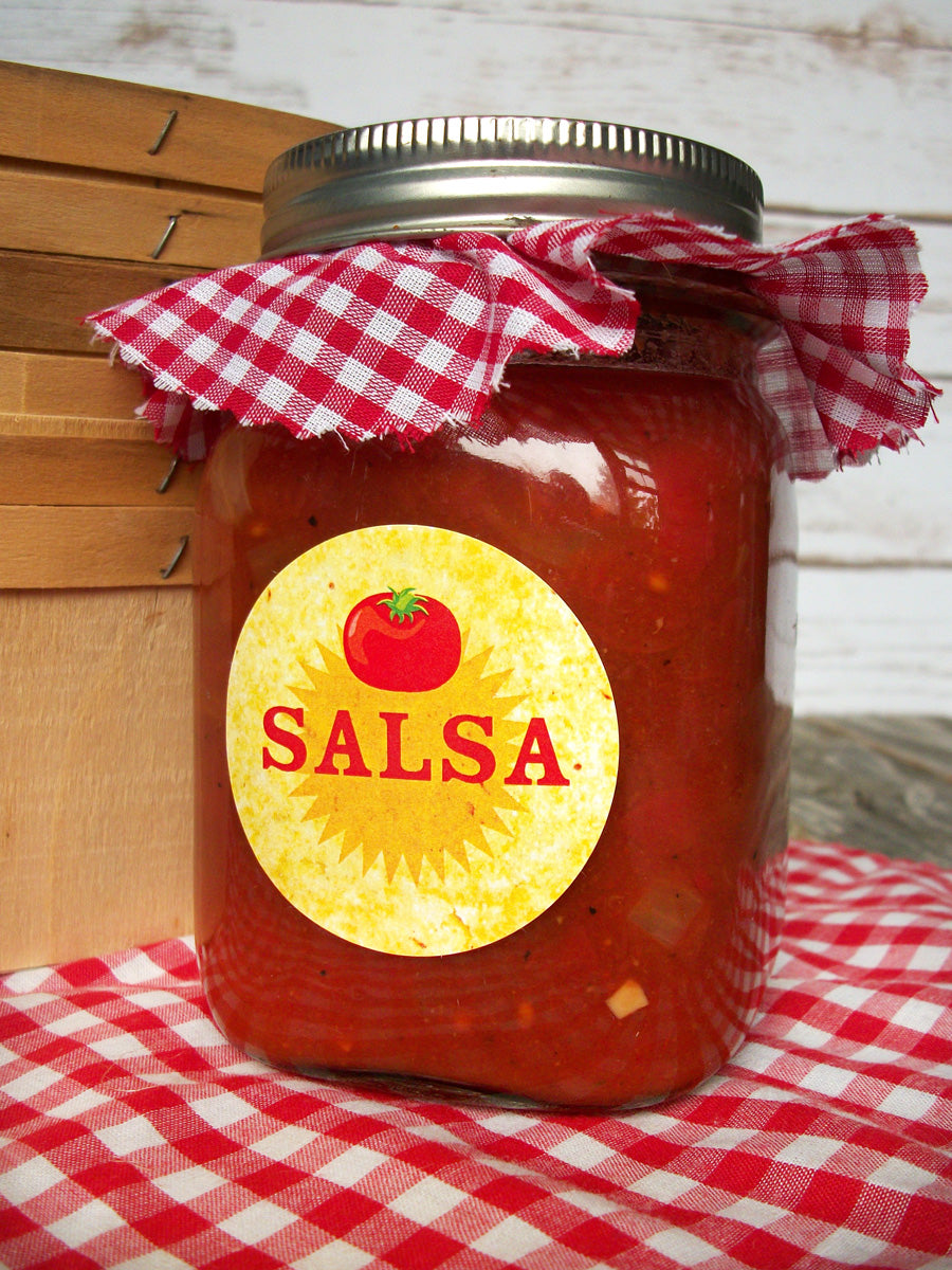 Salsa Canning Labels | CanningCrafts.com