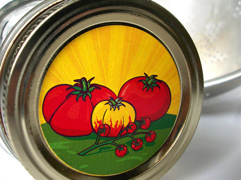 Tomato Canning Labels