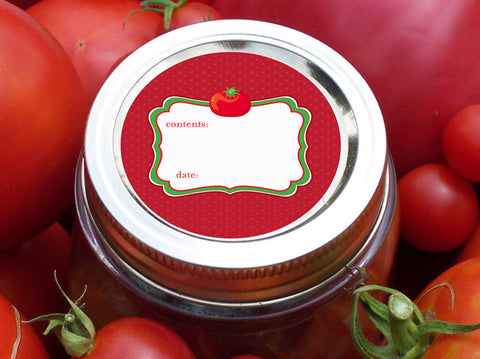 Tomato Canning Labels | CanningCrafts.com