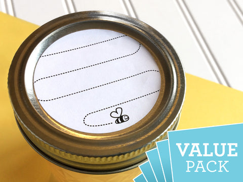 VALUE PACK Beeline Canning Labels | CanningCrafts.com